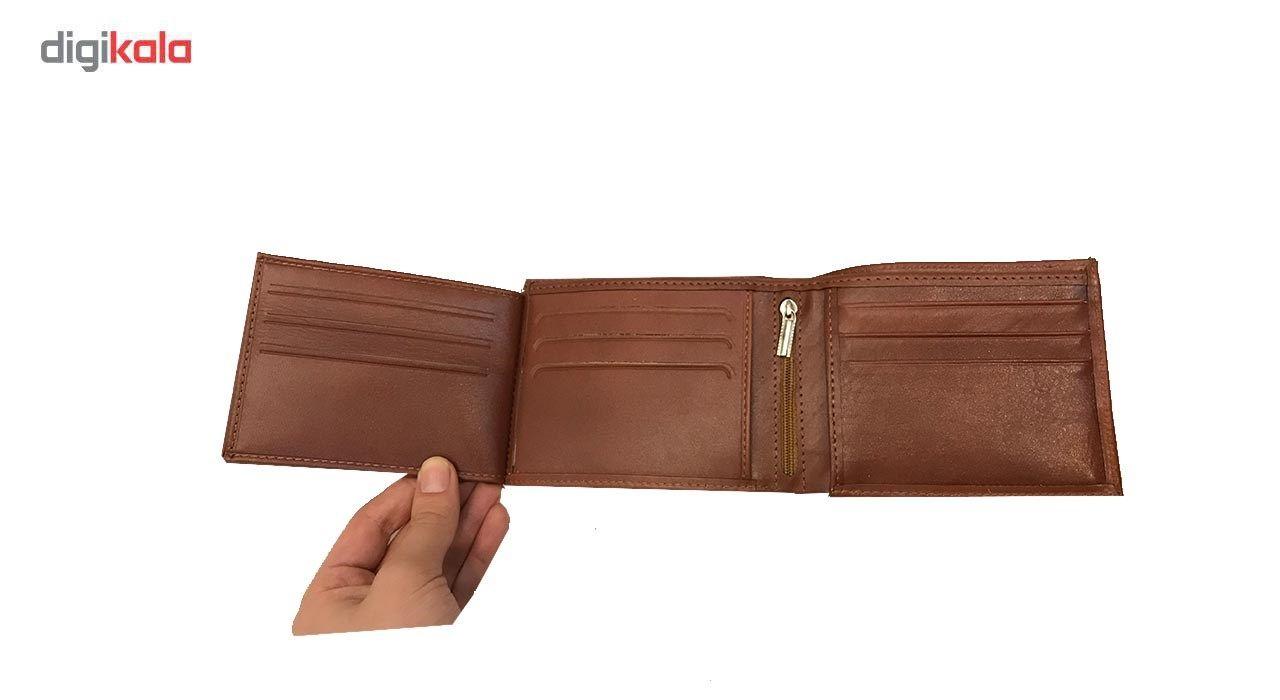 کیف پول چرم رایا مدل Rozana -  - 3