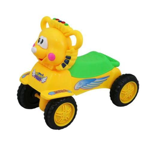 واکر موزیکال کودک  بی بی میکس مدل شیر زرد