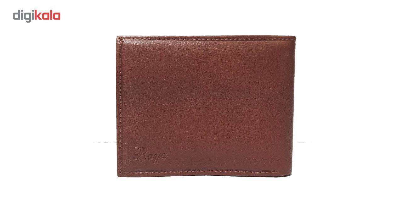 کیف پول چرم رایا مدل Rozana -  - 5