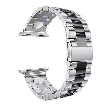 بند فلزی سومگ مدل Silver مناسب برای اپل واچ 42 میلی متری