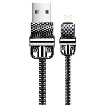 کابل تبدیل USB به Lightning جی روم مدل S-M336 به طول 1 متر