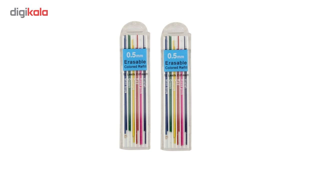 نوک مداد نوکی 0.5 میلی متری ارت کیوب بسته دو عددی main 1 1