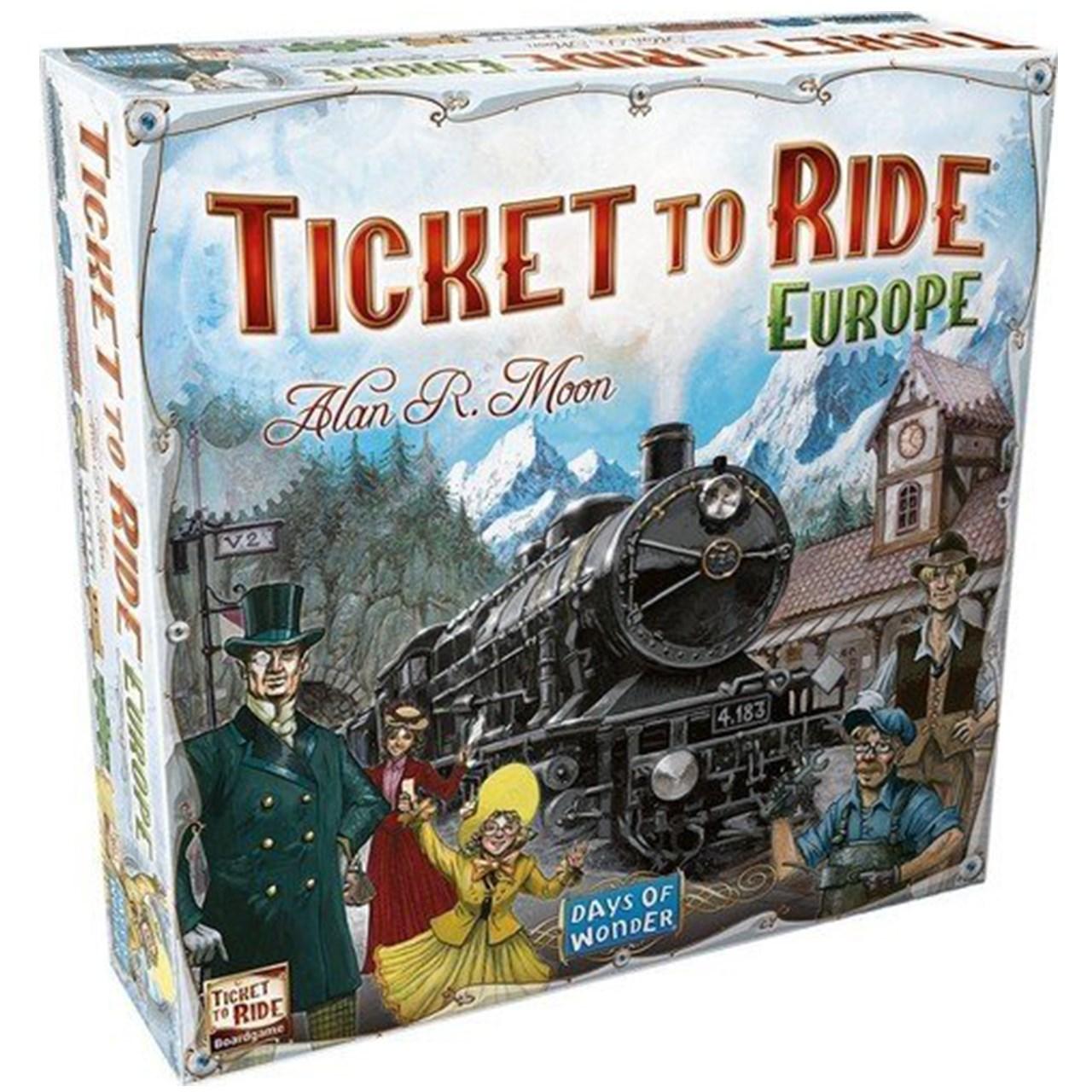 بازی رومیزی دیز آف واندرز مدل Ticket To Ride Europe