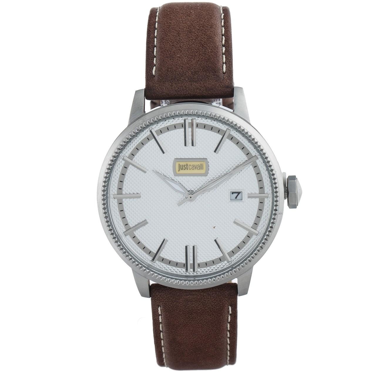 ساعت مچی عقربه ای مردانه جاست کاوالی مدل JC1G018L0015 12