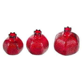 انار دکوری مدل Pomegranate بسته 3 عددی