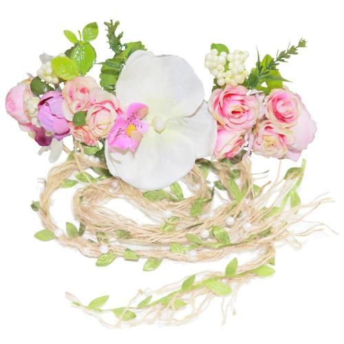 تاج گل پاپیونی مدل بهار 1