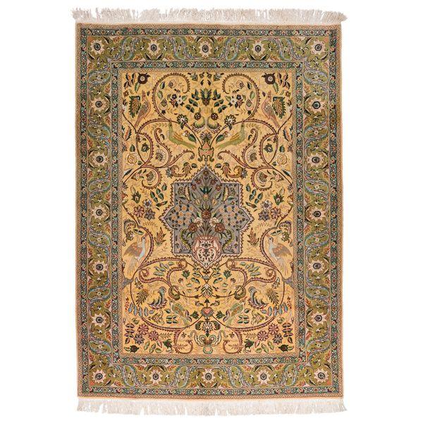 فرش دستبافت قدیمی سه متری سی پرشیا کد 102235