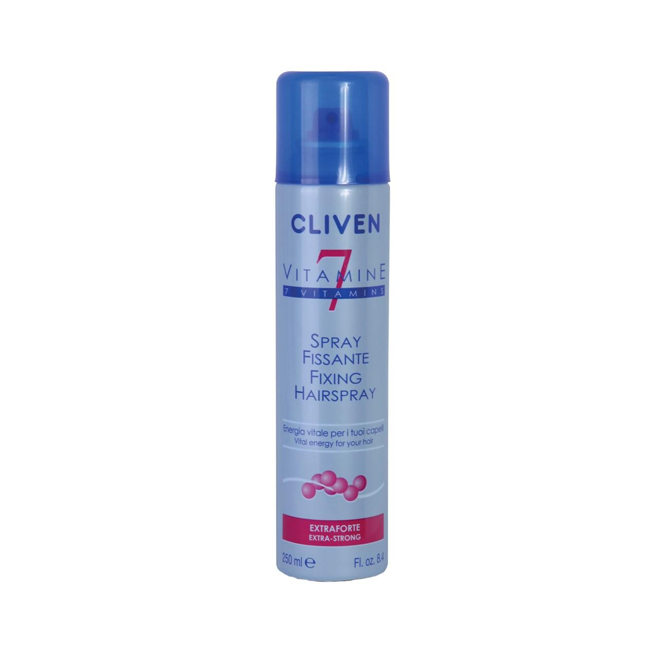 اسپری نگهدارنده حالت مو کلیون مدل 7 Vitamin حجم 250 میلی لیتر