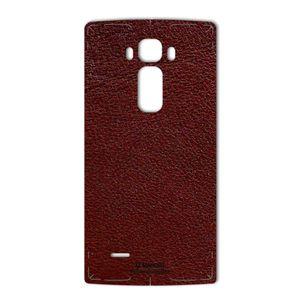 برچسب پوششی ماهوت مدلNatural Leather مناسب برای گوشی  LG G Flex 2