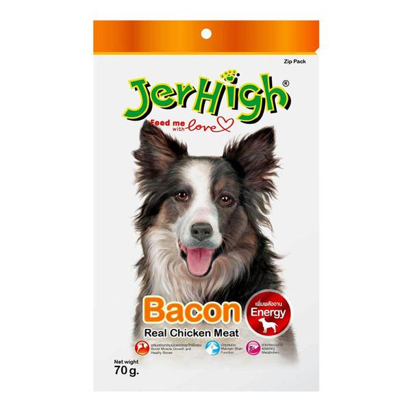 غذای خشک سگ جرهای مدل بیکن وزن70گرم