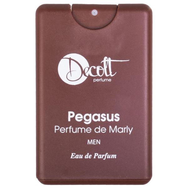عطر جیبی مردانه دکلت رایحه Pegasus perfume De Marly حجم 20 میلی لیتر