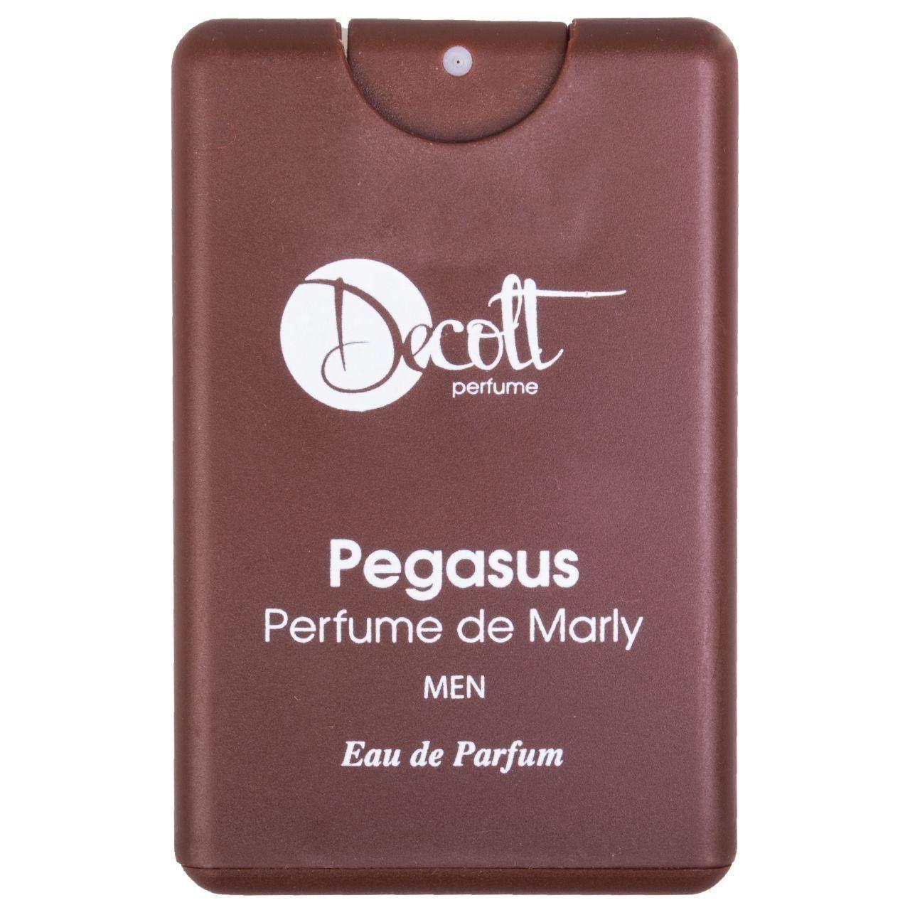 عطر جیبی مردانه دکلت رایحه Pegasus perfume De Marly حجم 20 میلی لیتر -  - 1