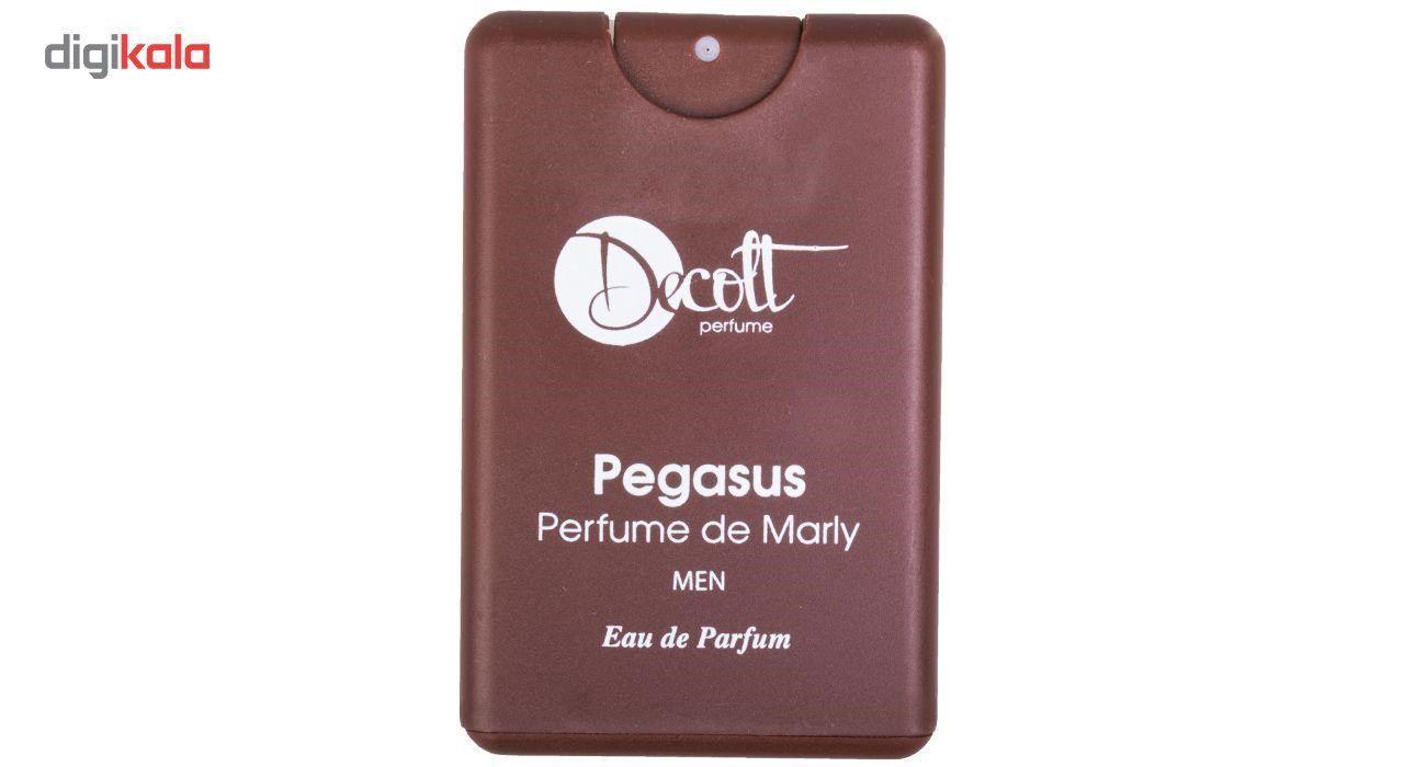 عطر جیبی مردانه دکلت رایحه Pegasus perfume De Marly حجم 20 میلی لیتر -  - 3