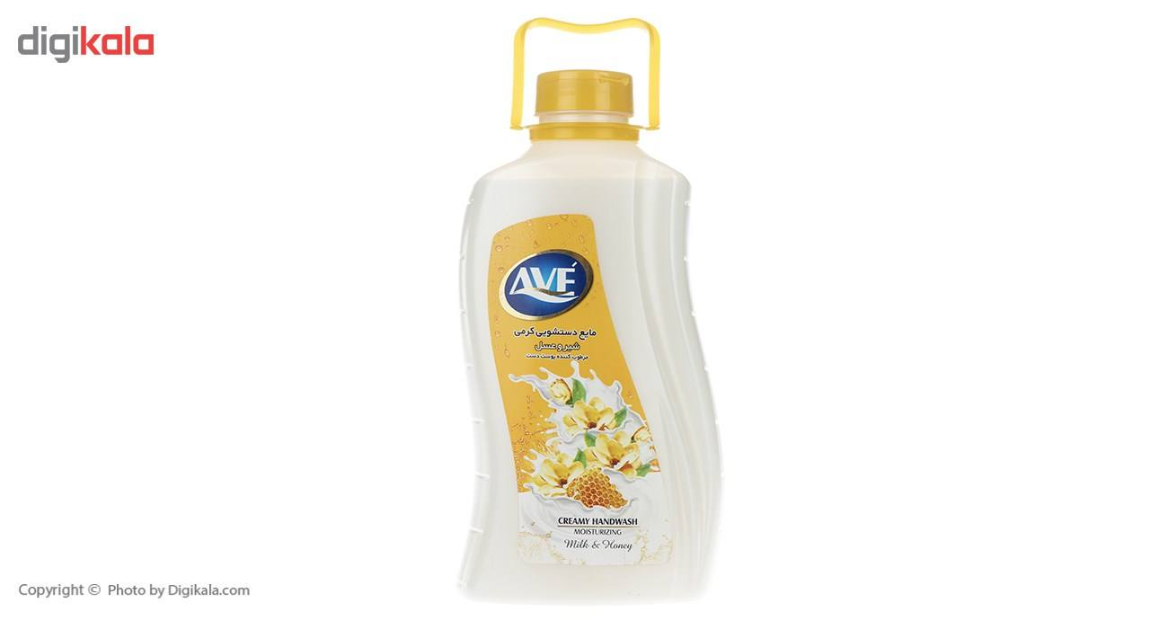 مایع دستشویی کرمی اوه مدل Honey And Milk مقدار 2000 گرم main 1 1