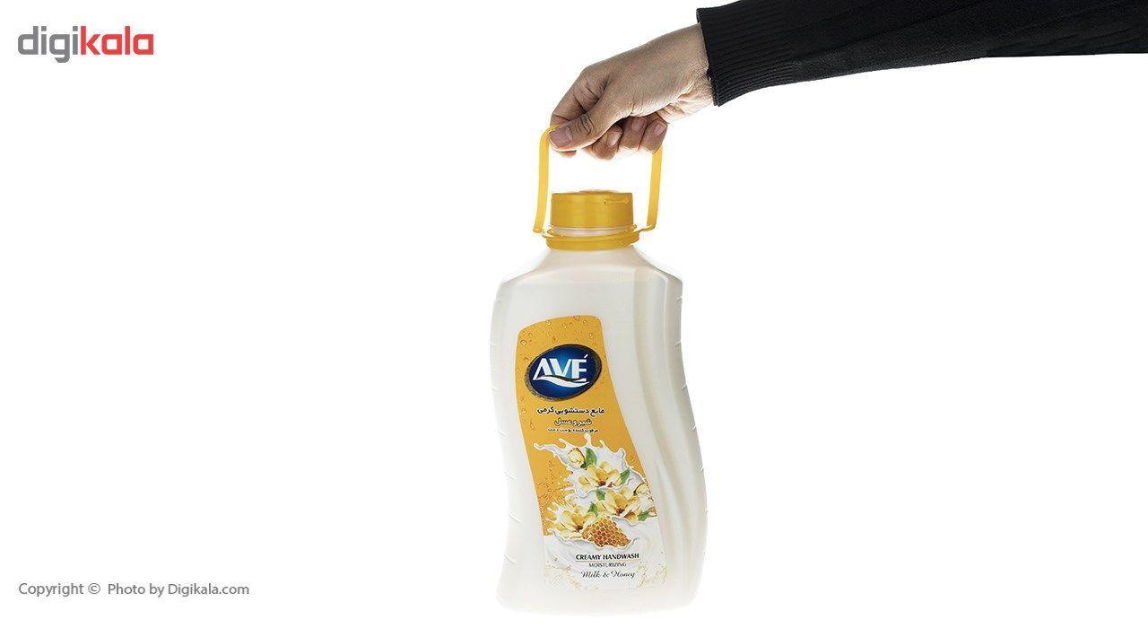 مایع دستشویی کرمی اوه مدل Honey And Milk مقدار 2000 گرم main 1 3