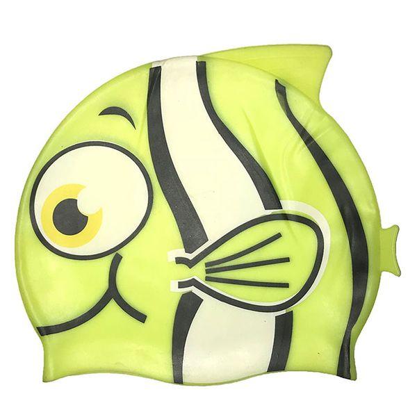 کلاه شنای بچه گانه سایلتو مدل Fish