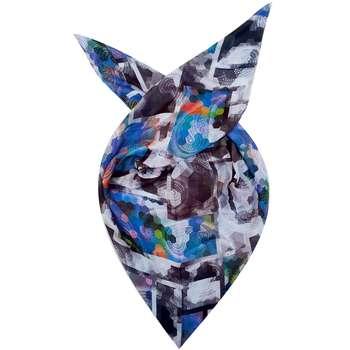 روسری روشا طرح رنگین کمان کد 02