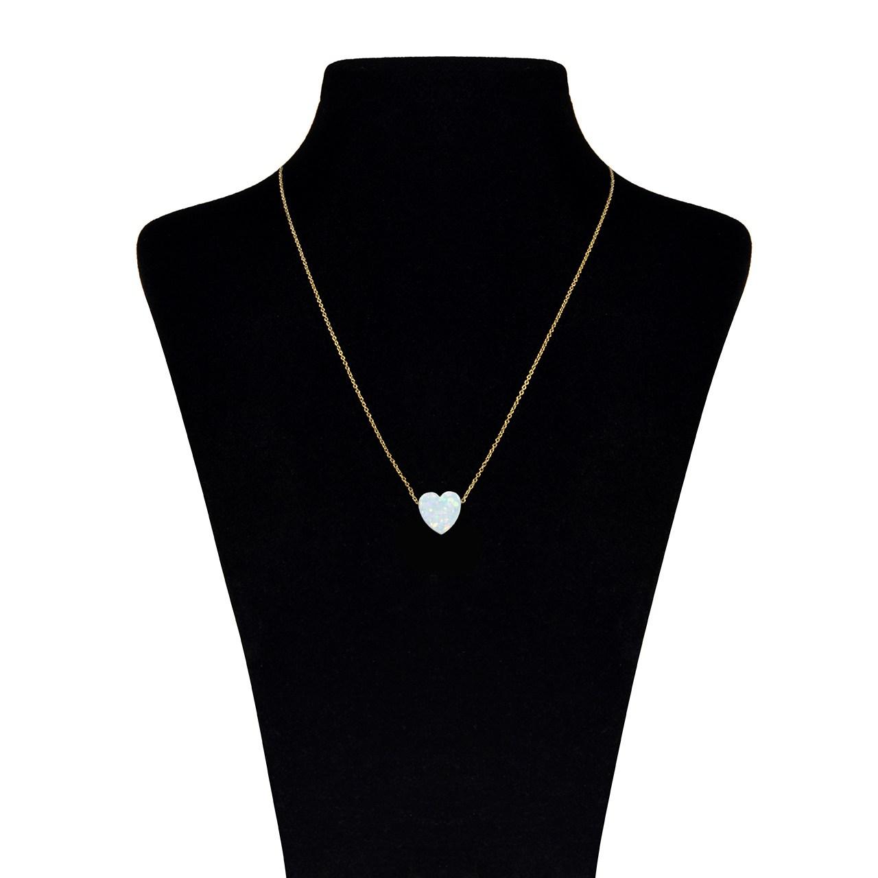 قیمت گردنبند طلا 18 عیار ماهک مدل MM0537 - مایا ماهک