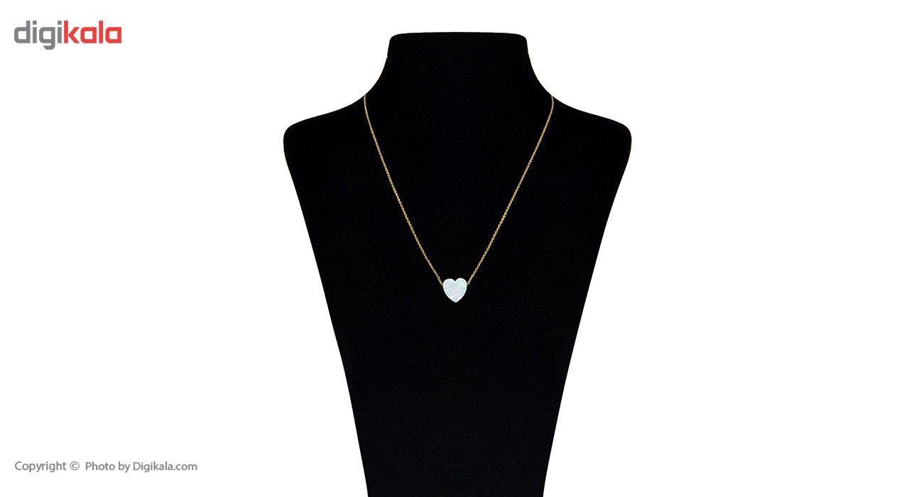 گردنبند طلا 18 عیار ماهک مدل MM0537 - مایا ماهک -  - 2