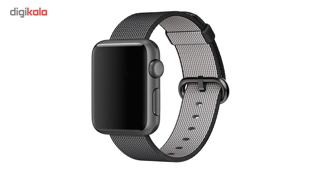 بند نایلونی هوکو مدل Nylon watchband مناسب برای اپل واچ 42 میلیمتری main 1 1
