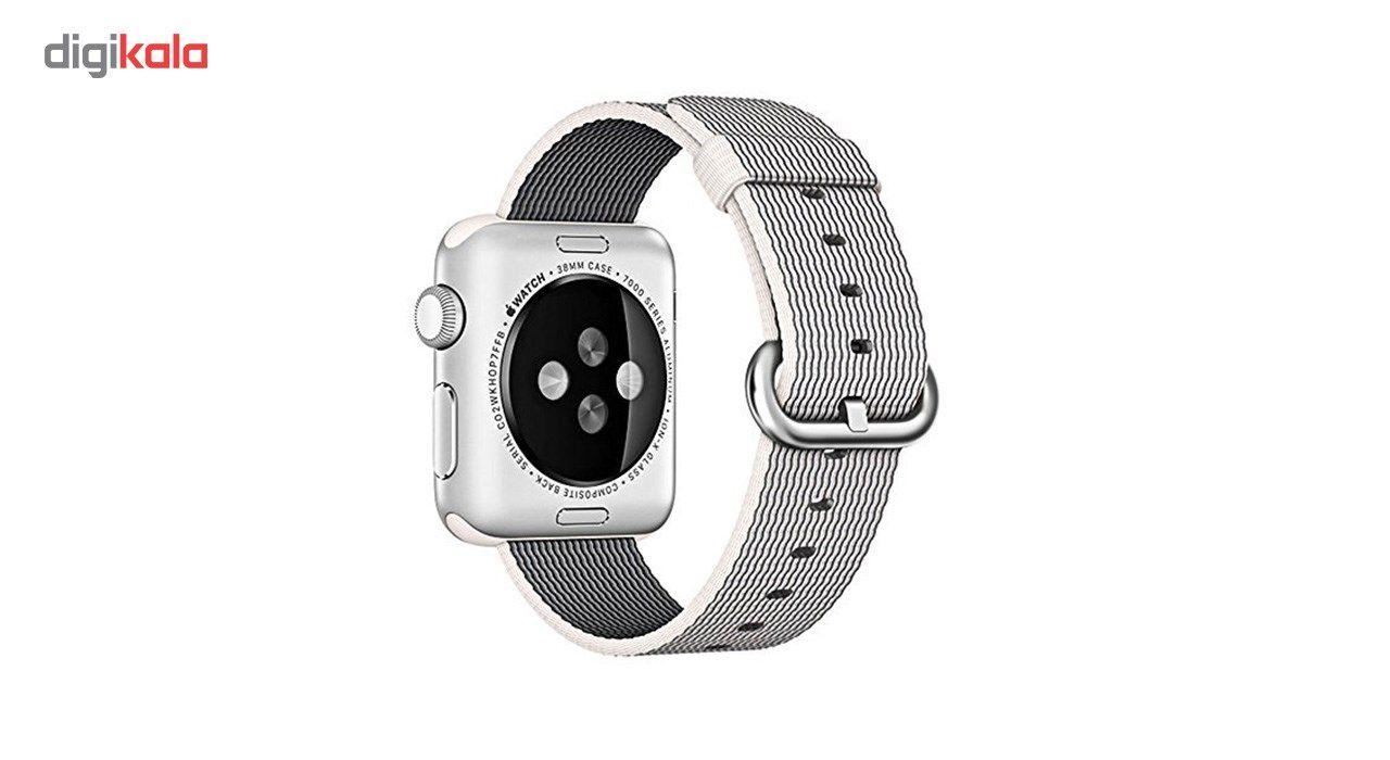 بند نایلونی هوکو مدل Nylon watchband مناسب برای اپل واچ 42 میلیمتری main 1 2