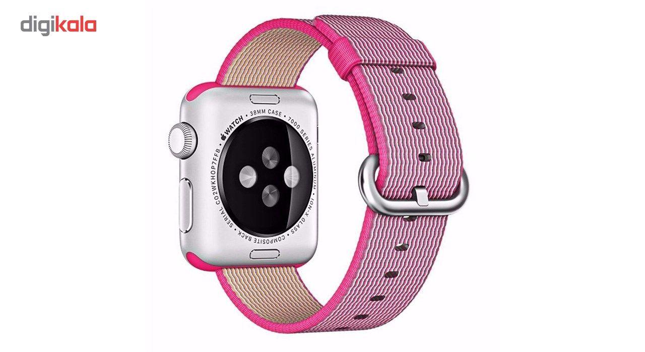 بند نایلونی هوکو مدل Nylon watchband مناسب برای اپل واچ 42 میلیمتری main 1 3