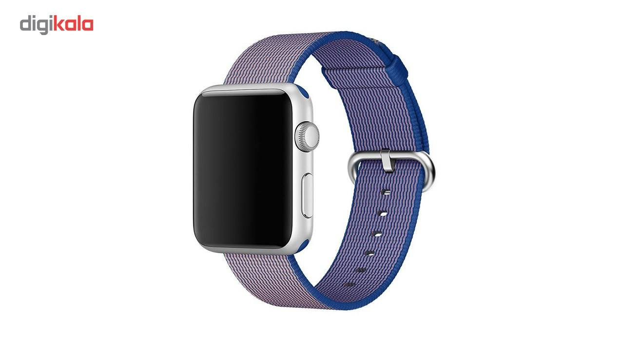 بند نایلونی هوکو مدل Nylon watchband مناسب برای اپل واچ 42 میلیمتری main 1 4