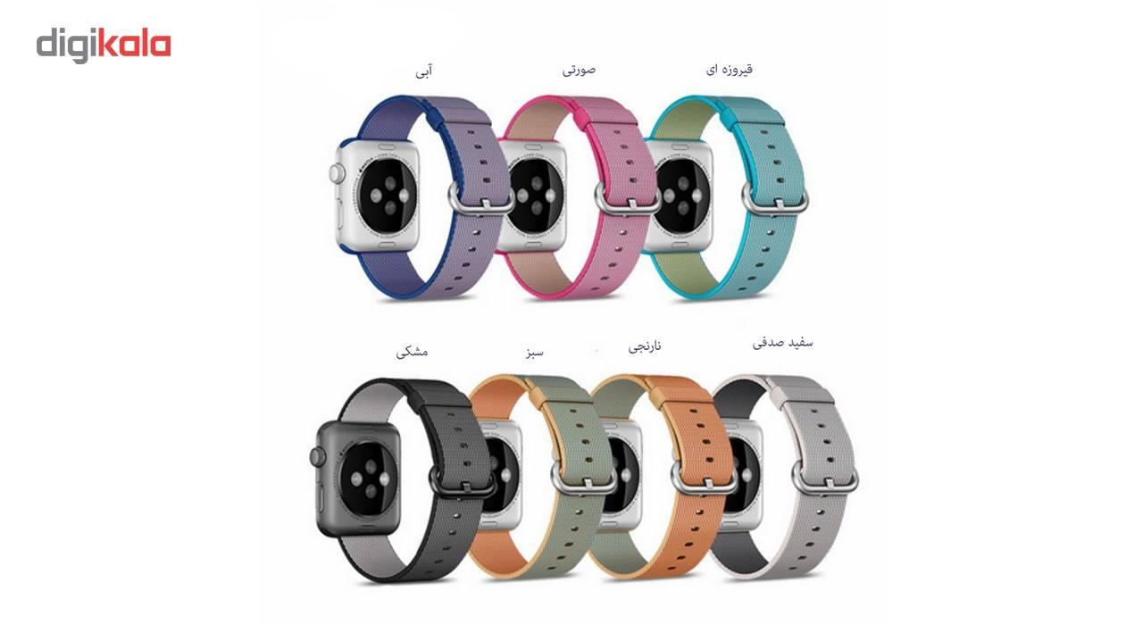 بند نایلونی هوکو مدل Nylon watchband مناسب برای اپل واچ 42 میلیمتری main 1 5