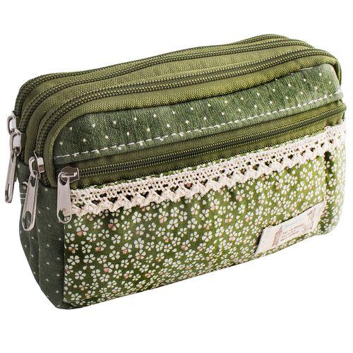 کیف لوازم آرایش واته مدل گل دار