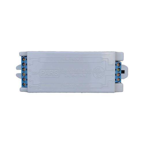 ترانس الکترونیکی 2x36 لامپ مهتابی و اف پی ال پارس