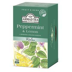 بسته دمنوش چای احمد مدل Peppermint and Lemon