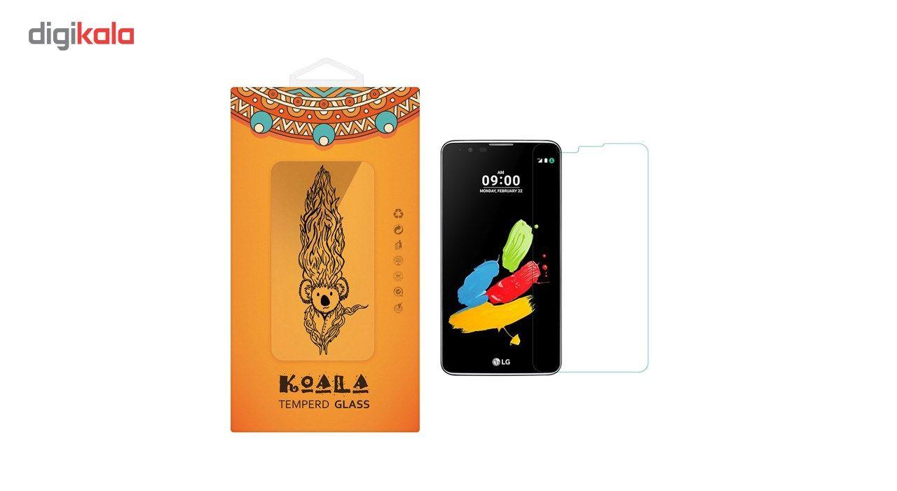 محافظ صفحه نمایش شیشه ای کوالا مدل Tempered مناسب برای گوشی موبایل ال جی Stylus  2 main 1 1
