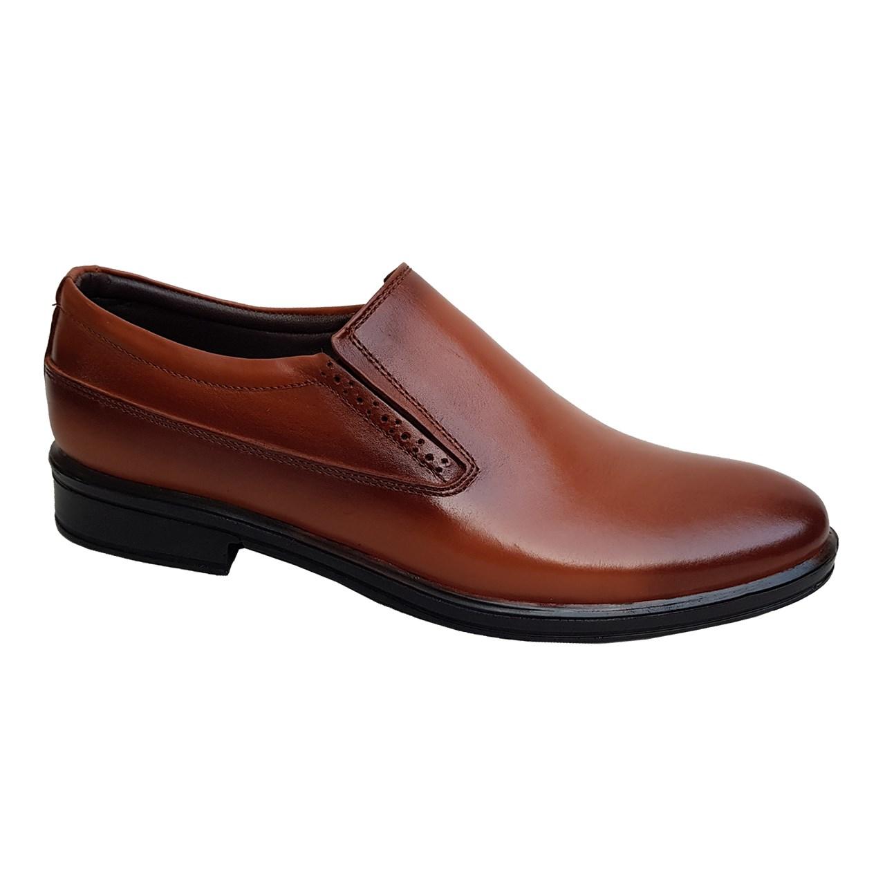 کفش مردانه چرم طبیعی دیاکو مدلMSL-KERAL-K-HONEY