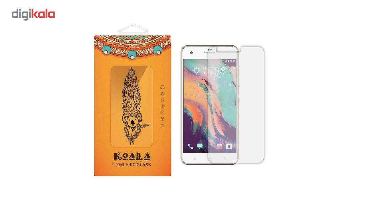 محافظ صفحه نمایش شیشه ای کوالا مدل Tempered مناسب برای گوشی موبایل اچ تی سی One X10 main 1 1