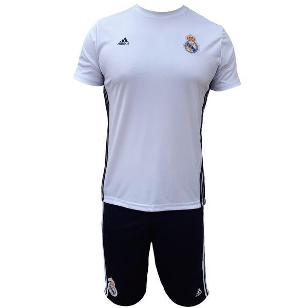 ست پیراهن و شورت ورزشی مردانه ادیداس مدل رئال مادرید