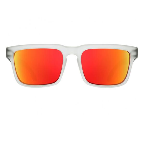 عینک آفتابی اسپای سری Helm مدلMatte Clear Black Gray Green with Red Spectra