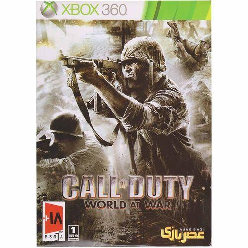 بازی Call of Duty World at War مخصوص ایکس باکس 360
