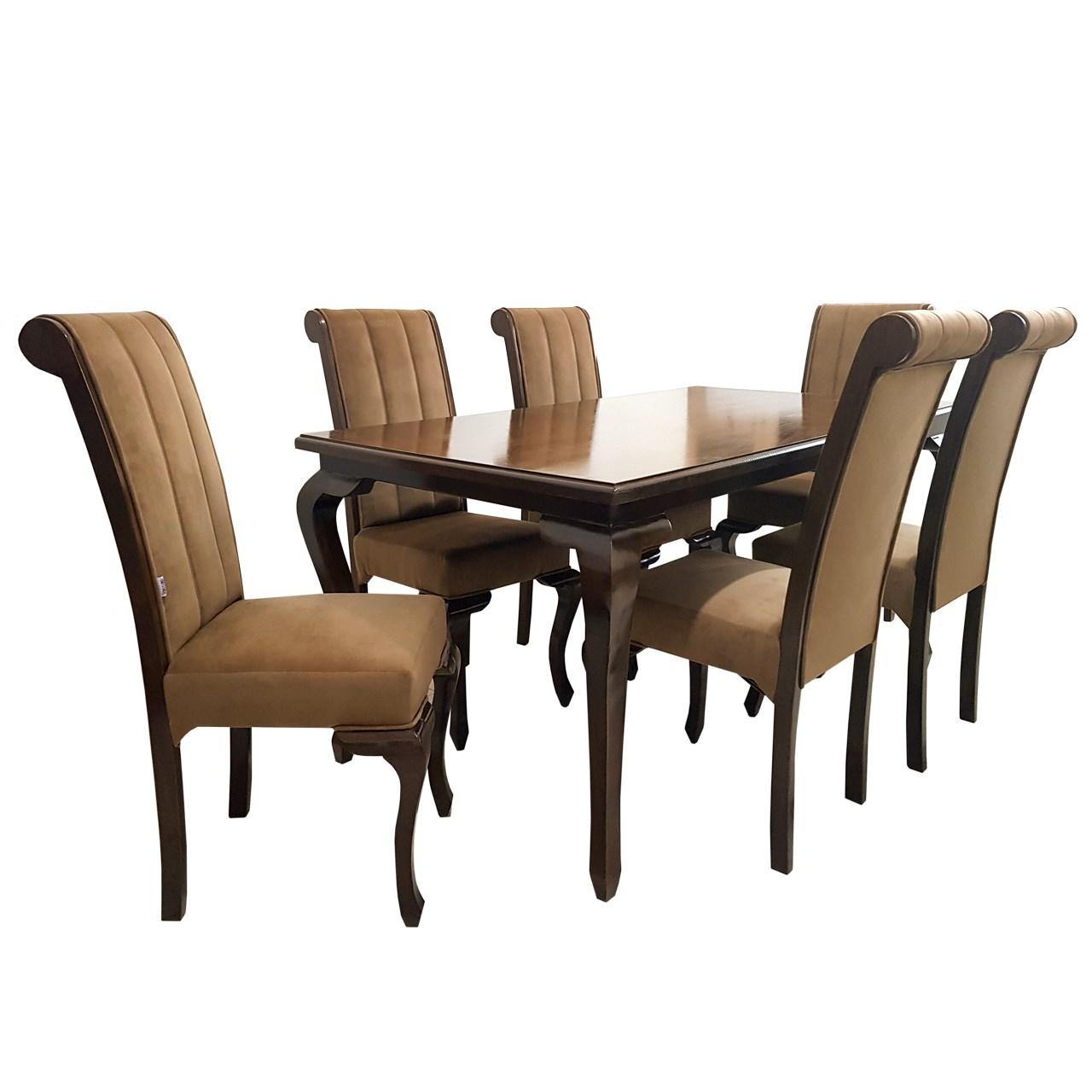ست میز و صندلی چوبکو مدل اهورا