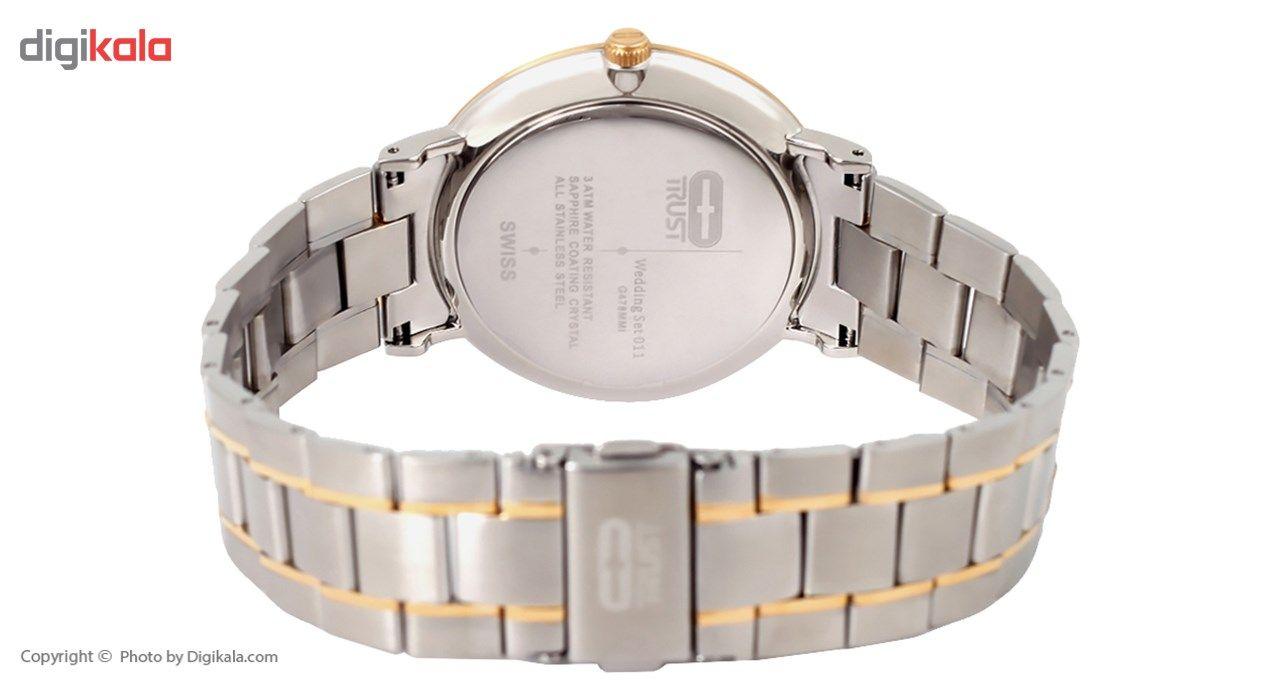 ساعت مچی عقربه ای مردانه تراست مدل G478MMI -  - 3