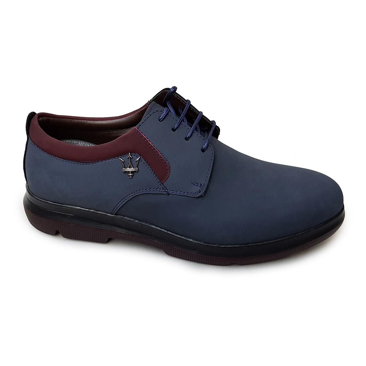 قیمت کفش مردانه چرم طبیعی دیاکو مدلMSL-BARSELON-SORMEI