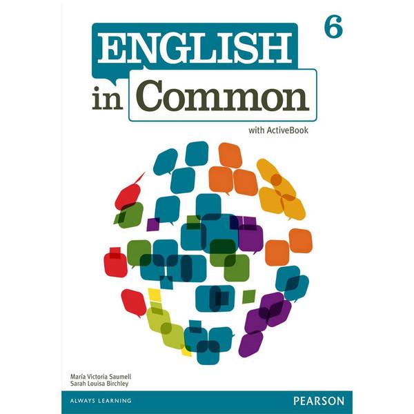 کتاب زبانEnglish In Common 6 Workbook AND Studen Book-CD -اثر مولفان نشر پندارقلم