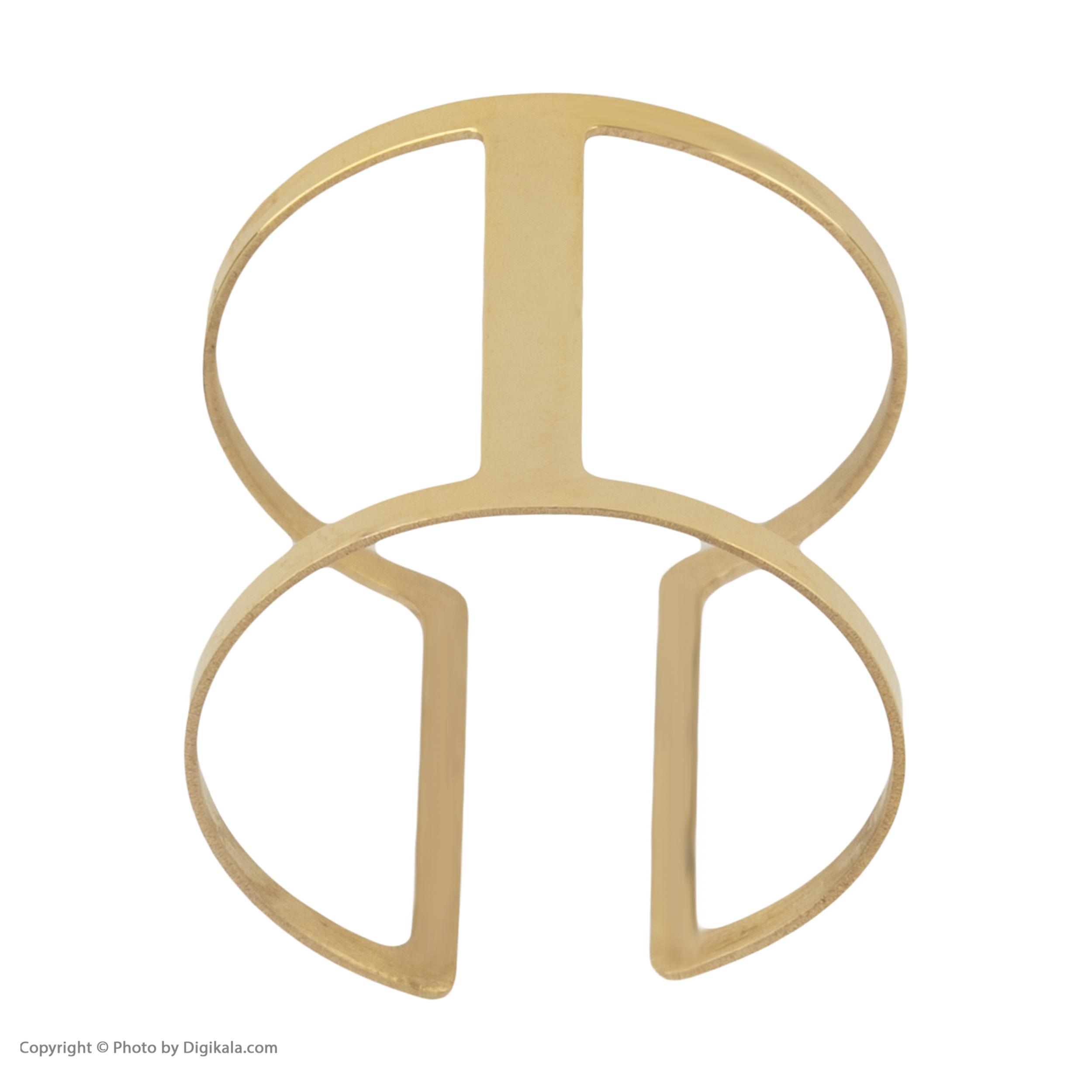 انگشتر طلا 18 عیار زنانه نیوانی مدل NR027 -  - 3