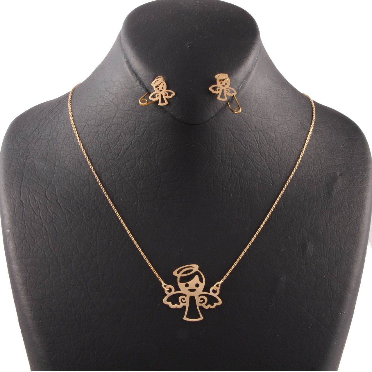 قیمت نیم ست طلا 18 عیار سپیده گالری SH0001