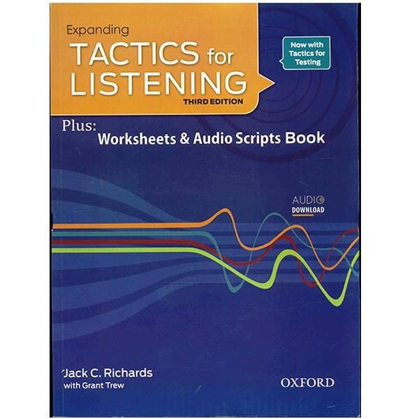 کتاب زبان Expanding Tactics For Listening Third Edition