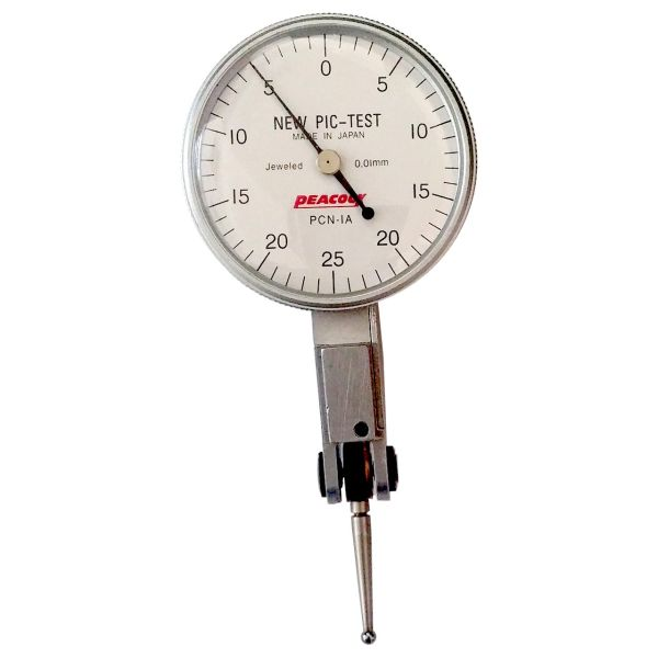 ساعت اندیکاتور پیکاک کد PCN1A گستره 0.5 -0 میلیمتر