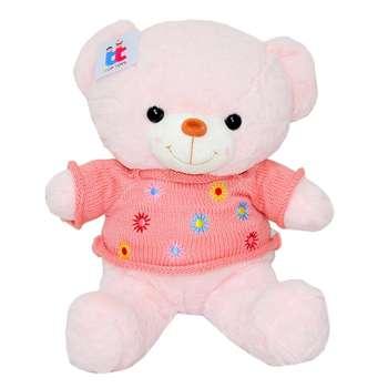 عروسک خرس تدی مدل  Flower Sweatshirt