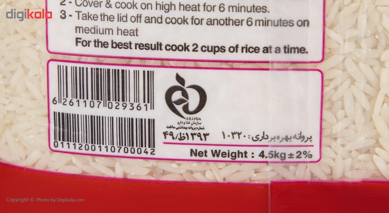 برنج طارم ممتاز گلستان - 4.5 کیلوگرم main 1 5