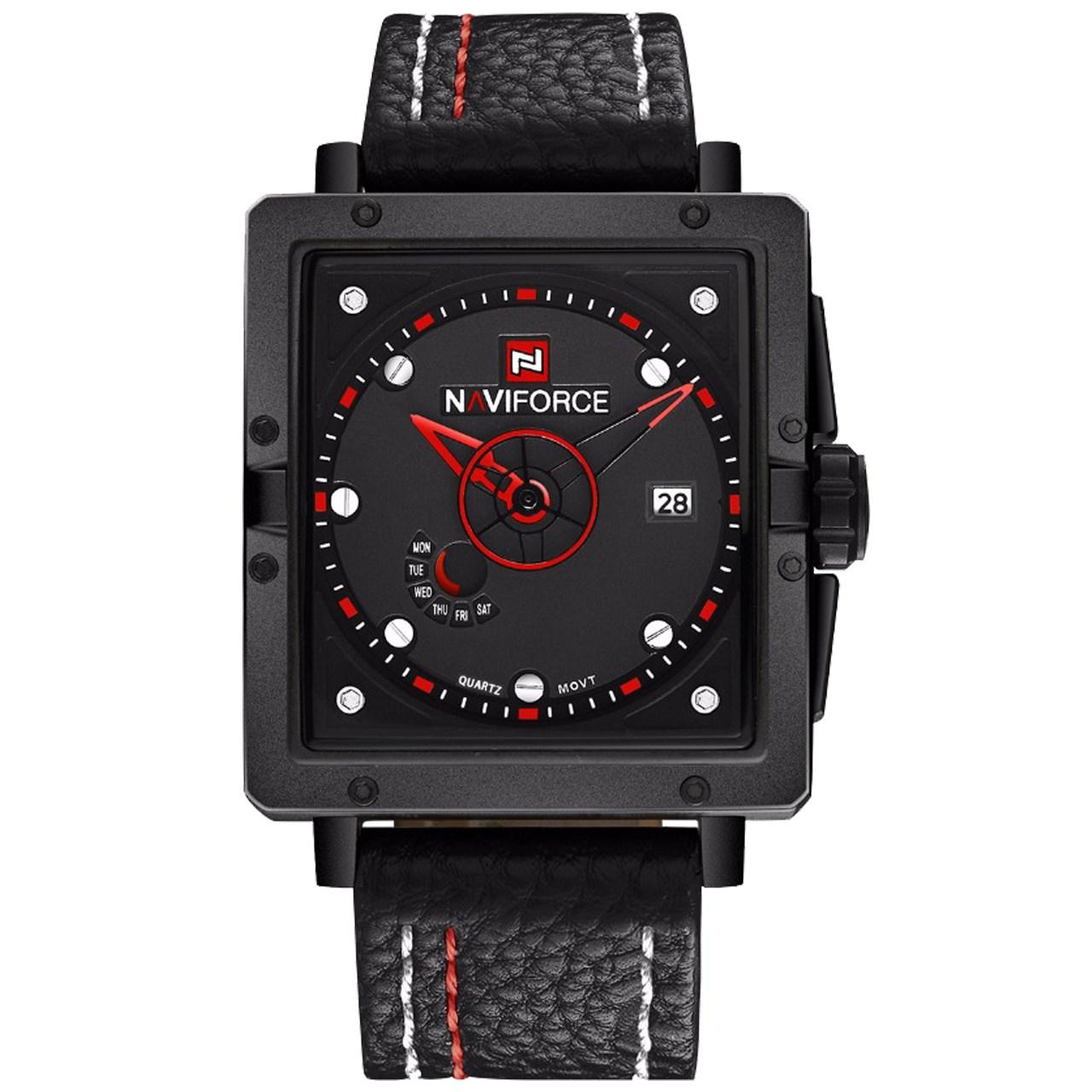ساعت مچی عقربه ای مردانه نیوی فورس مدل NF9065M/BBR