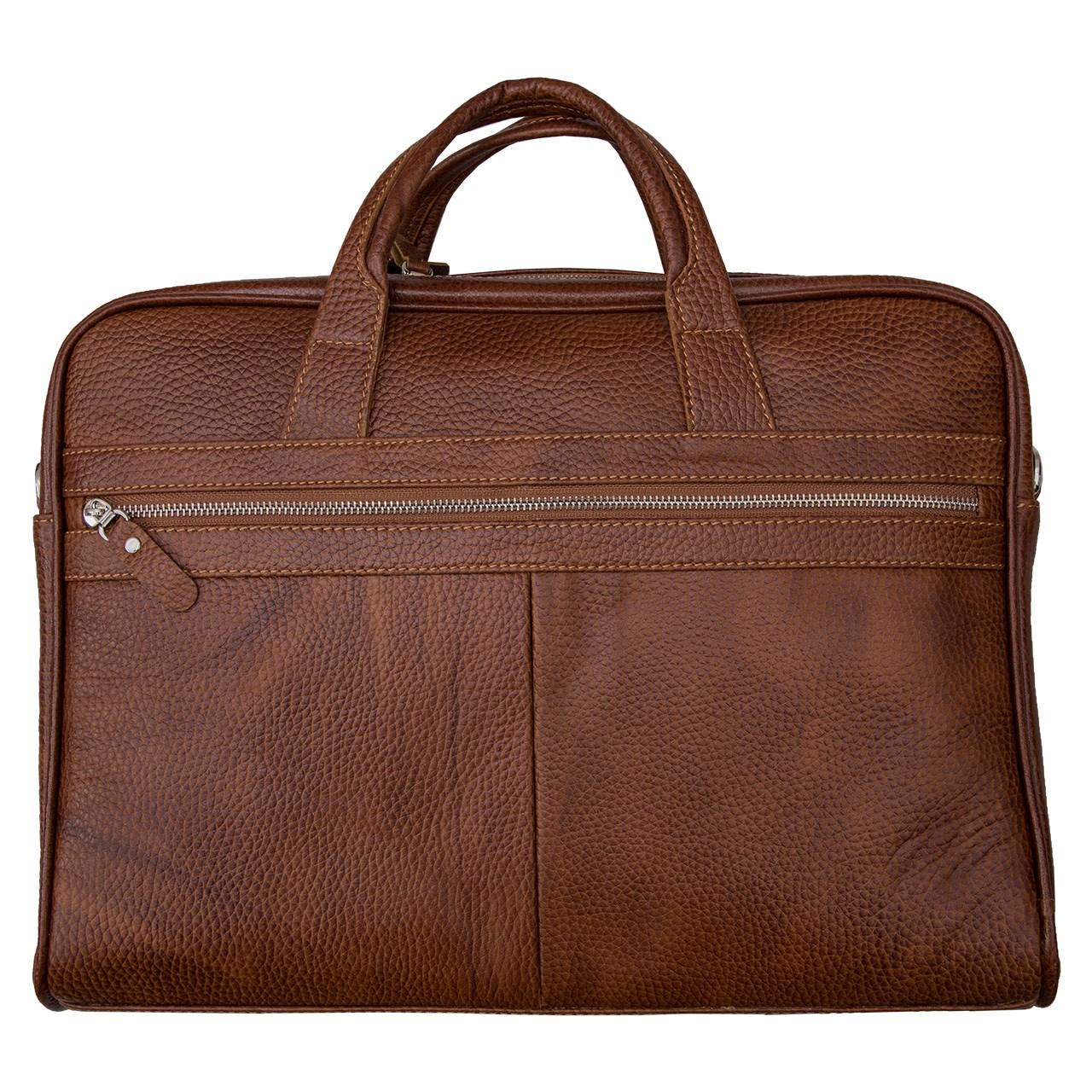 کیف اداری چرم مهرگان مدل MH22
