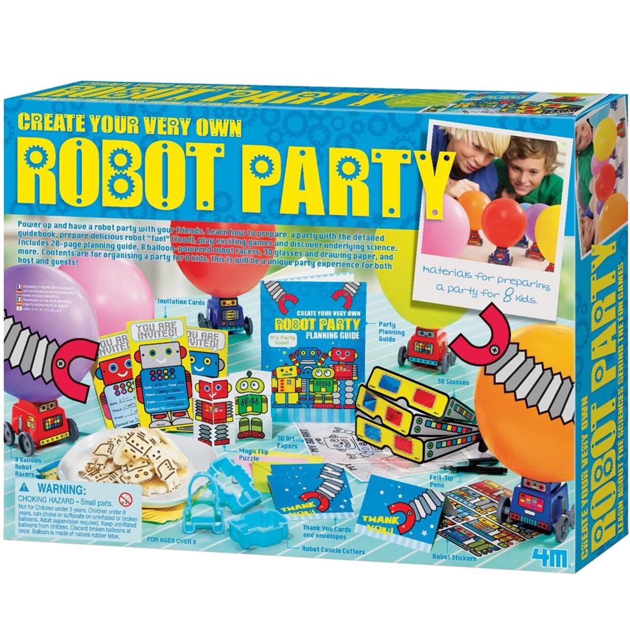 کیت آموزشی 4ام مدل Robot Party 04402